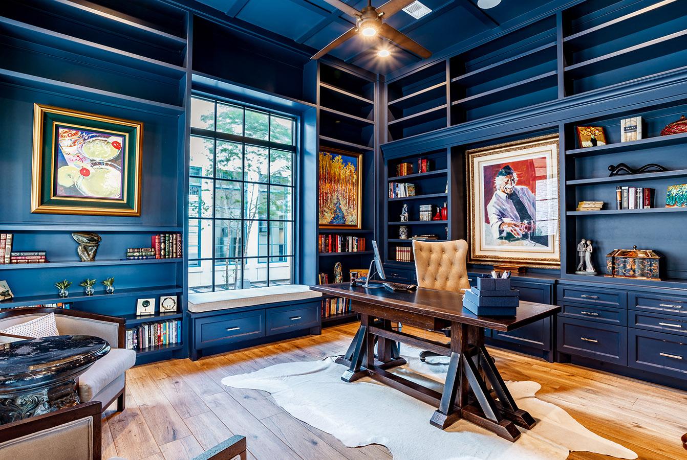 William David Colorful Office