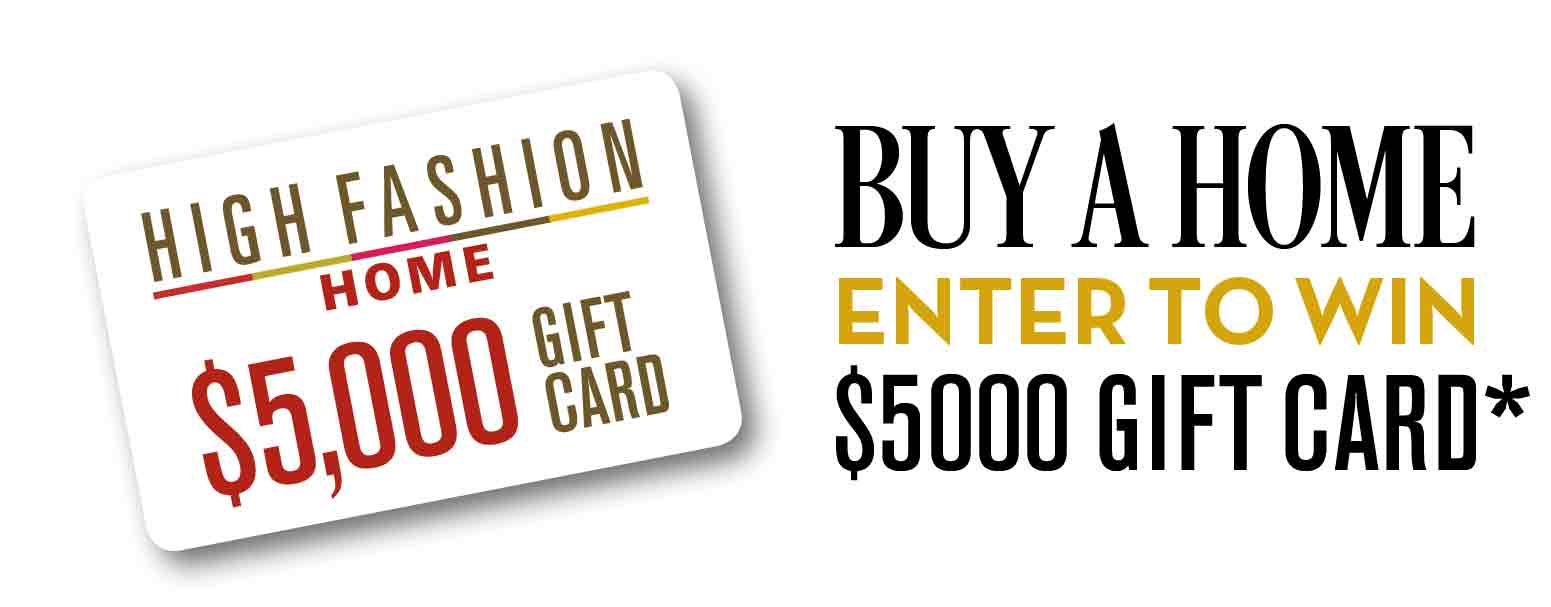 Buy A Home at Cane Island and Enter to Win a Gift Card from High Fashion Home