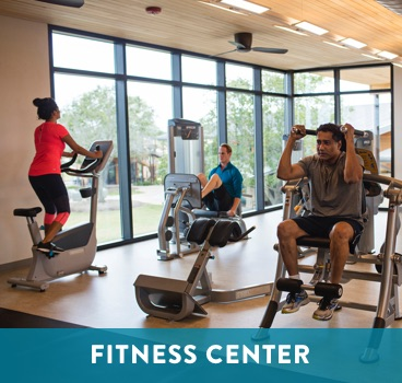 Fitness Center at Cane Island in Katy, TX