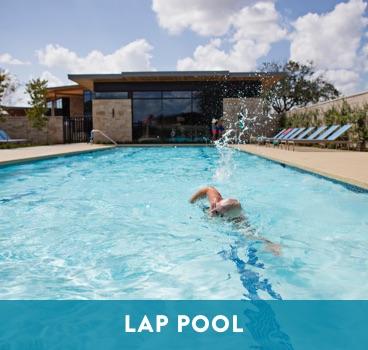 Lap Pool at Cane Island in Katy, TX