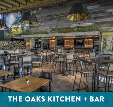 The Oaks Kitchen and Bar at Cane Island in Katy, TX