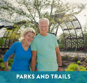 Parks and Trails at Cane Island in Katy, TX