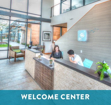 Welcome Center at Cane Island in Katy, TX