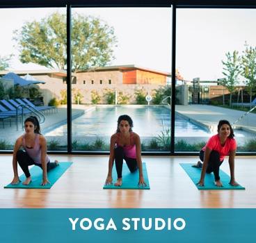 Yoga Studio at Cane Island in Katy, TX